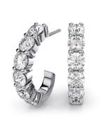 Design Earrings 14kt white gold 1.20Ct GENUINE ... - $1,660.00