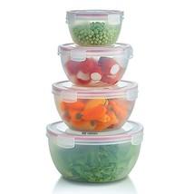 Komax Biokips Round - Nestable - Mixing and Prep Bowls - Airtight Food S... - $29.67