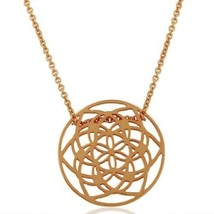18K Rose Gold Plated 925 Sterling Silver Chain Pendant Designer Jewelry - $21.77