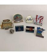 Lot Of Pins US States Souvenir Travel Theme  - $2.96