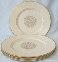 Franciscan China Mid Century Mad Men Rossmore Dinner Plate Set of 4 - $36.52