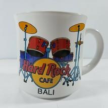 Hard Rock Cafe Mug Bali Drum Set Save The Planet Vintage Used Condition - $32.07
