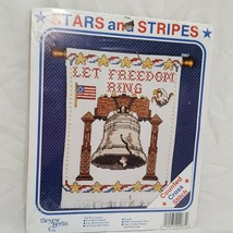 America Stars and Stripes Cross Stitch Kit Freedom New Berlin Co Liberty... - $17.89