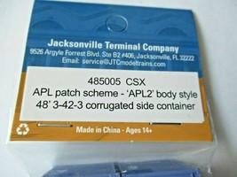 Jacksonville Terminal Company # 485005 APL Patch Scheme 48' 3-42-3 Container image 2