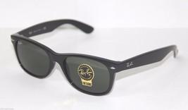 Ray-Ban WAYFARER 2132 901L 55 Large BLACK GREEN Sunglasses NEW & 100% OR... - $89.99