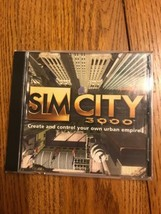 Sim City 3000 PC Video Game CD-ROM 2000 EA Tested Ships N 24h - $23.74