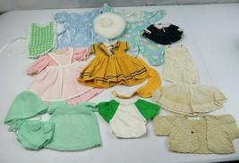 Lot of Vintage Dolls clothes Dress Cap Pajama Vest (Lot 6) - $45.00