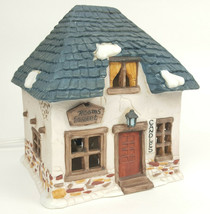 Dept 56 Candles Shop Building w/LIGHT 1984 Dickens' Village Department 5... - $39.55