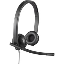 Logitech USB Headset Stereo H570e - Stereo - USB - Wired - 31.50 Hz - 20... - $77.37