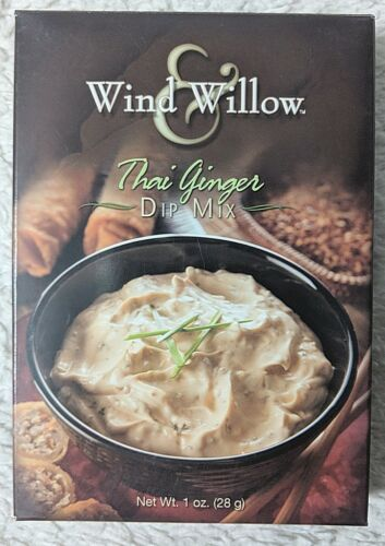 Wind And Willow 4018 Thai And Ginger Dip Mix Package