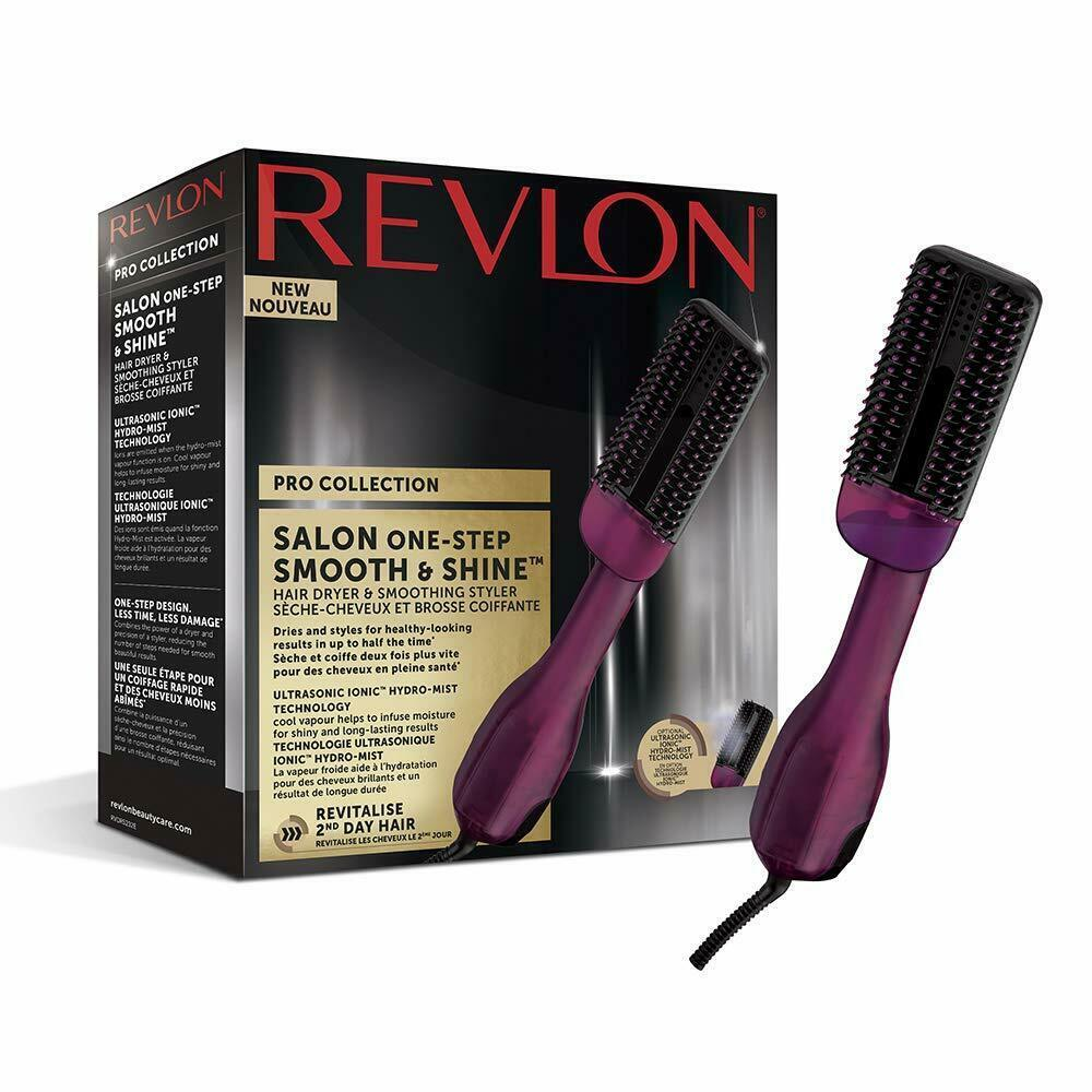 Revlon Pro Collection Salon One-Step Smooth & Shine Dryer And Straightening Hair - $225.47