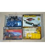 Lot Metal Flake Monogram Roadster MPC Chevrolet Corvette Roadster 1:25 O... - $22.98