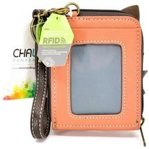 Chala Handbags Cute-C Red Fox Faux Leather RFID Credit Card Wristlet Holder image 2