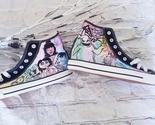 Tim Burton painted shoes - £28.68 GBP - £54.18 GBP