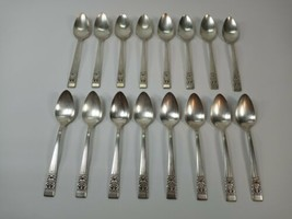 Vtg Oneida Coronation Set 16 Spoons Community Silver Plate Flatware 1936... - $24.99