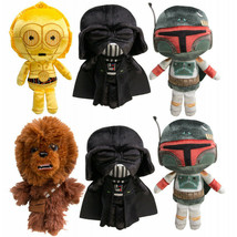 6pk Funko Disney Star Wars Collectible Galactic Plushies Toys w/Darth Va... - $28.70