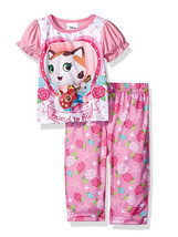 Disney Baby Girls' Sheriff Callie 2pc Pajama Pant Set - $11.95