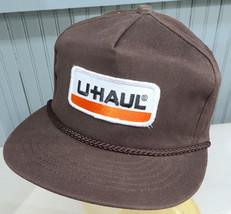 VTG U-Haul Moving Storage Patched Made in USA Snapback Baseball Cap Hat - $40.53