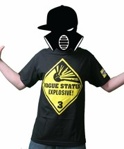 Rogue Status Explosive Black Men's T-Shirt Size: S