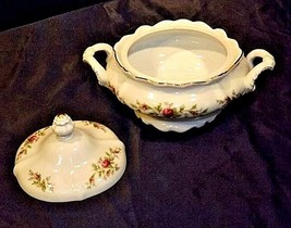 Bavarian German China Set of Johann Haviland (No 18 Tureen Bowl AB 55-G Vintage image 2