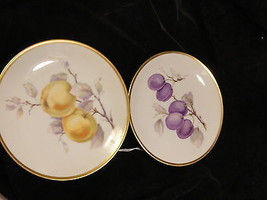Bavarian Fruit Plates 7 1/2 Inch - $14.99