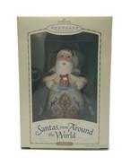 2004 Hallmark Santas From Around the World Italy Ornament Fruitcake Porc... - $41.93