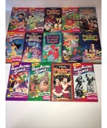 Authentic Disney sing along songs VHS lot  14 Tapes - $99.99