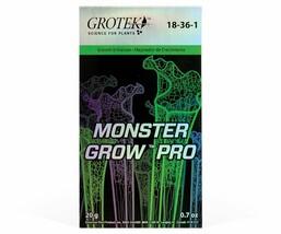 Grotek Monster Grow Pro Vegetative & Pre-Flowering Stages Nutrients 20 g - $27.21
