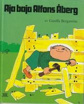 Aja Baja Alfons Åberg 1992 Swedish Children's Book Svenska - $16.82