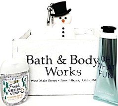 Bath & Body Works Oh What Fun Hand Cream, Fresh Sparkling Snow Pocketbac... - $18.33