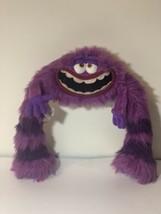 "Disney Store Plush Monsters Inc Art University Purple Large 11"" Stuffed Animal - $12.99"