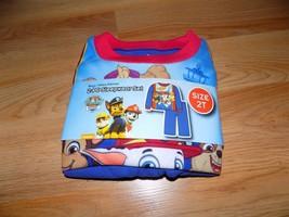 Toddler Size 2T Nickelodeon Paw Patrol 2 Piece Sleepwear Set Flannel Paj... - $12.00