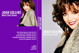 JOAN COLLINS - MORE CHAT SHOWS DVD - $23.50