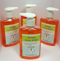 ( Lot 4 ) OIL-FREE ACNE WASH Treatment SALICYLIC ACID Face Cleanser Pump... - $23.73