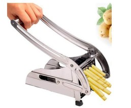 French Fries Potato Chips Cutting Machine Maker Stainless Steel Slicer C... - €30,04 EUR