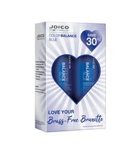 Joico Color Balance Blue Shampoo, Conditioner Liter Duo