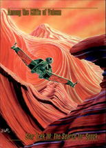 Among The Cliffs Of Volcan 1993 Skybox Star Trek Master Series Card #36 - $0.99