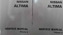2012 Nissan Altima Service Reparatur Shop Manuell CD Version Neu 2012 OE... - $296.99