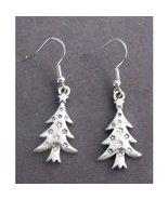 Christmas Tree Earrings, Christmas Jewelery, Christmas Gift for Her, Sec... - $8.25