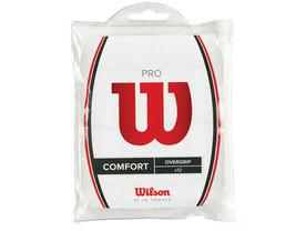 Wilson Pro Overgrip 12 Pack White Comfort Tennis Badminton Tape Racket W... - $27.23
