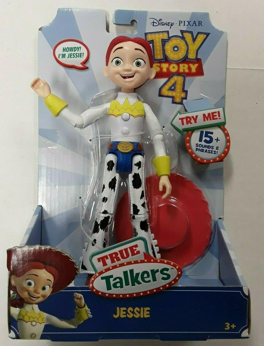 "Disney Pixar Toy Story 4 True Talkers Talking JESSIE Figure 8.8"" BRAND NEW HTF"