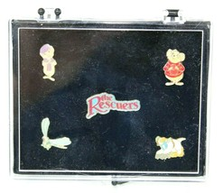 The Rescuers by Walt Disney Push Pin Collection - NEW Rare pin set colle... - $19.79