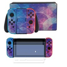 Taifond Full Set Faceplate Skin Decal Stickers for Nintendo Switch with ... - $18.29