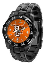 Bowling Green Falcons Mens Watch Fantom Gunmetal Finish Team Color Dial - $67.50