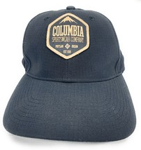 Columbia Sportswear Company Strapback Adjustable Black Baseball Cap Hat - $17.41