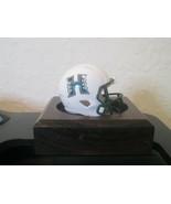 NCAA Hawaii Warriors Custom Pocket Pro Helmet White  Speed Rainbows Logo  - $13.81