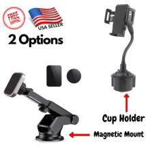 Universal Adjustable Gooseneck Cup Cradle Car Mount Holder For Cell Phon... - $8.78+