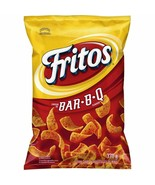 12 Bags Fritos BBQ Corn Chips LARGE Size 370g FRITO LAY From Canada FRESH! - $74.70
