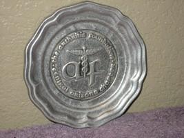 Wilton Armetale RWP Aluminum Metal Plate Stamped AF Arthritis Arizona Fo... - $9.46