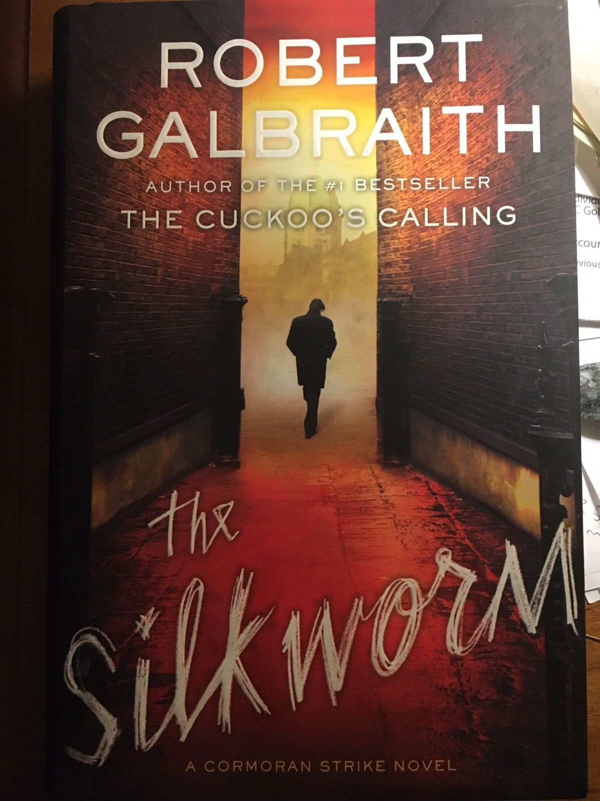3 Cormoran Strike, Robert Galbraith: The CuckoosCalling, Silkworm, CareerOfEvil